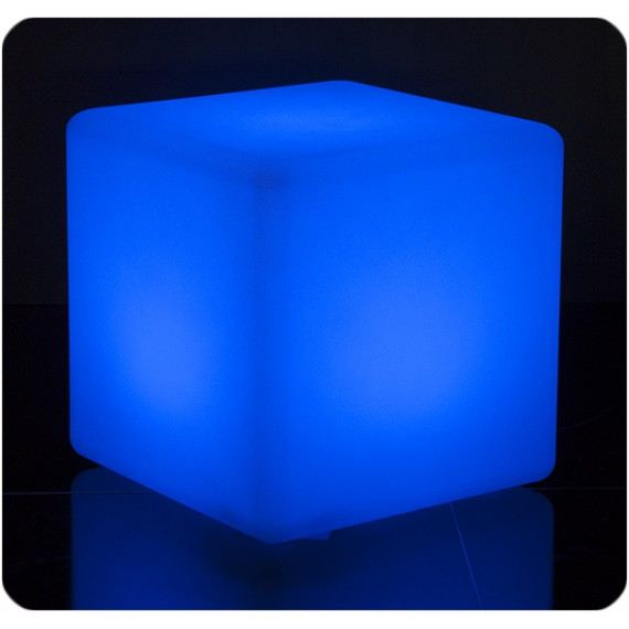 Cubo luminoso in polietilene Cube