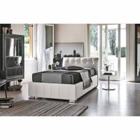 Letto singolo ecopelle Target Point Chamonix