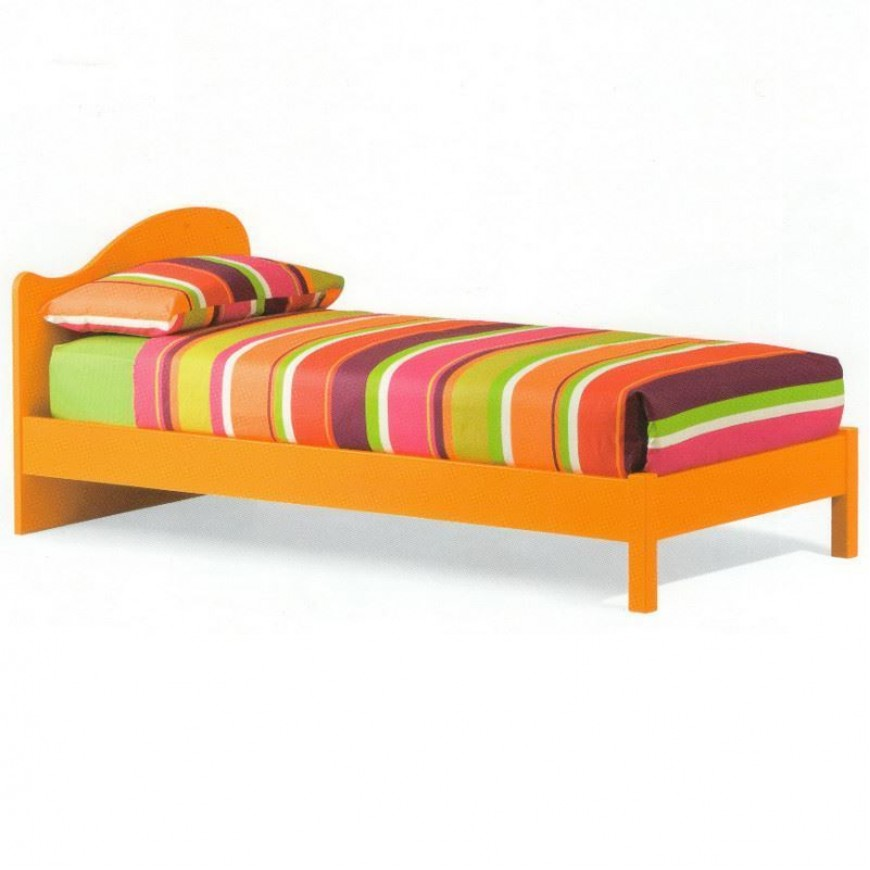Chaise Longue Letto Singolo.Letto Singolo Legno Colombini Casa Giano Dx Abitarearreda It