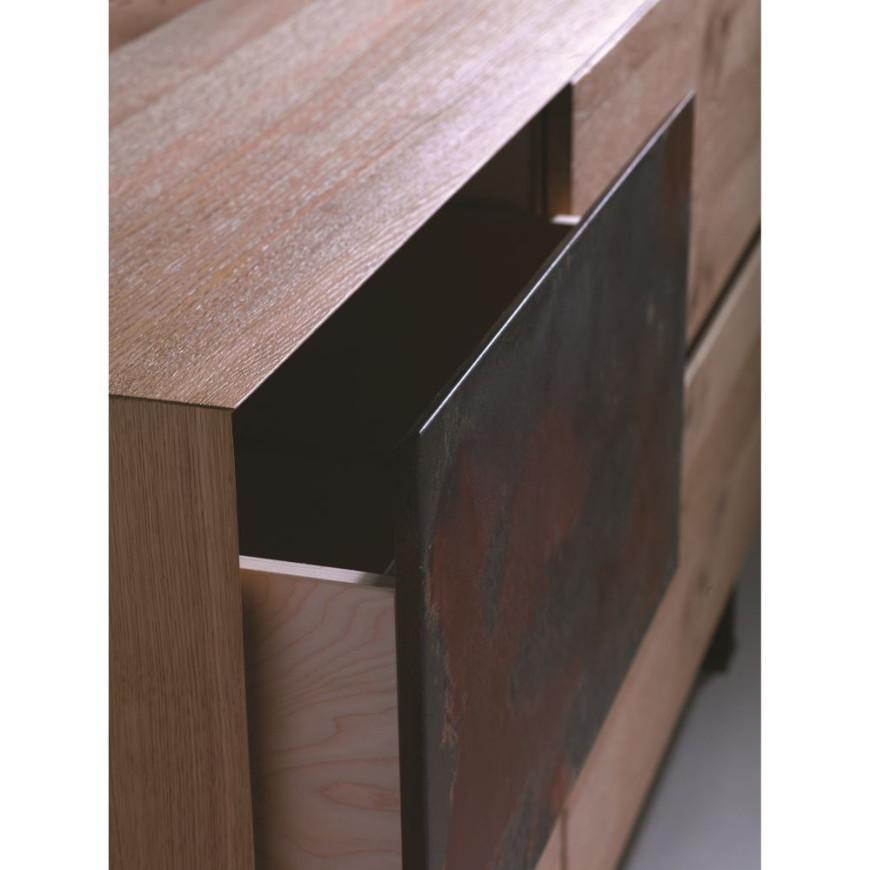 Madia legno design antico Belloni Havard | ABITAREarreda.it