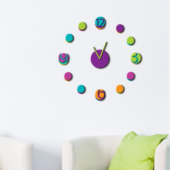Orologio sticker 3D Colorful Watch