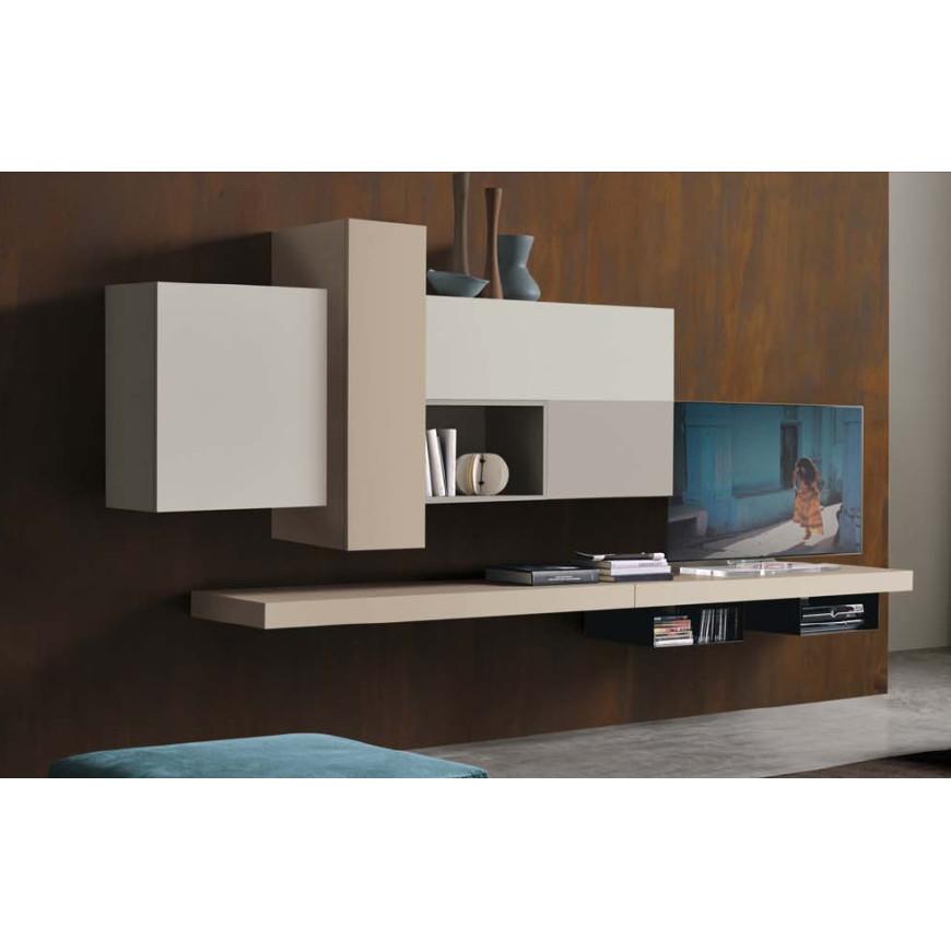 Parete attrezzata moderna S11 Colombini Casa | ABITAREarreda.it