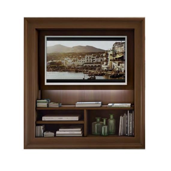 Porta Tv Sospeso Con Cornice.Porta Tv Sospeso Con Cornice Classico Colombini Casa L143