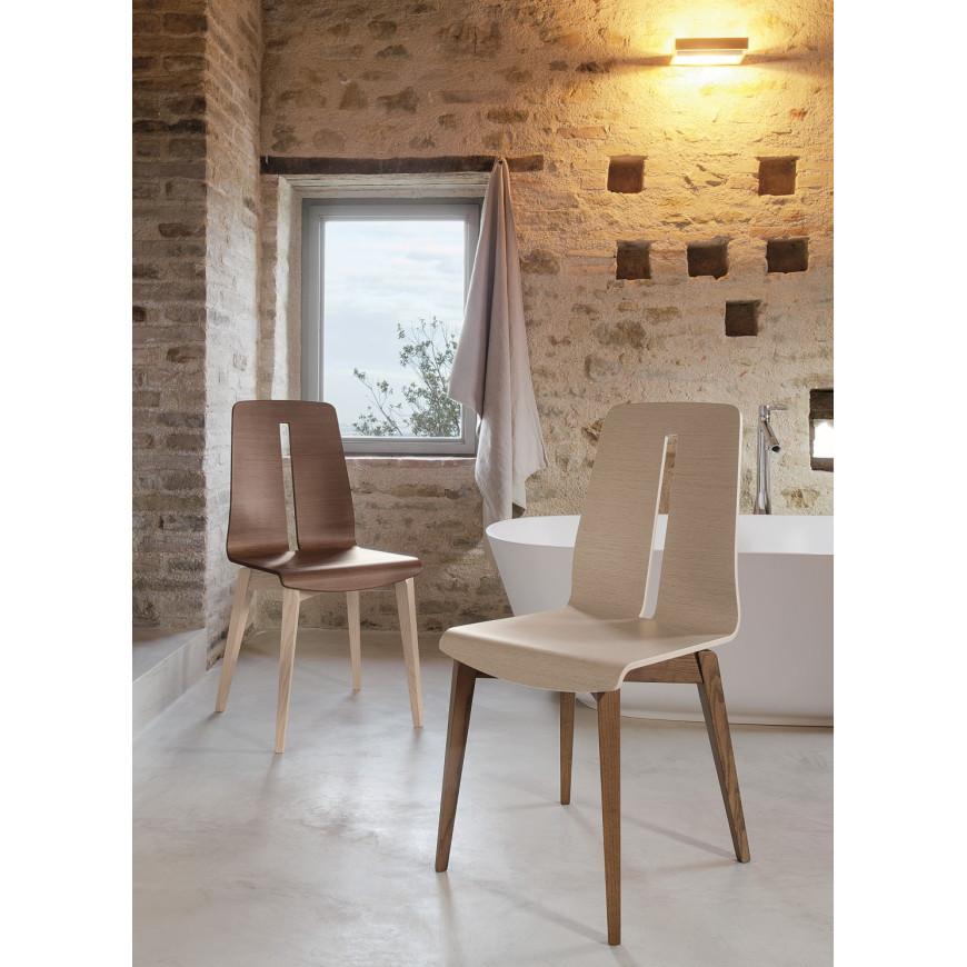 Sedia in legno design moderno Friulsedie Greta | ABITAREarreda.it