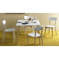 Sedia in legno e polipropilene Connubia Calligaris Jelly