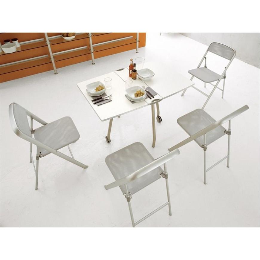 Sedia pieghevole in alluminio Calligaris Alu | ABITAREarreda.it