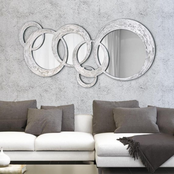 Specchiera decorativa Pintdecor Circles