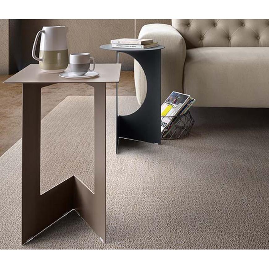 Tavolino da soggiorno in metallo Duetto Pianca   ABITAREarreda.it