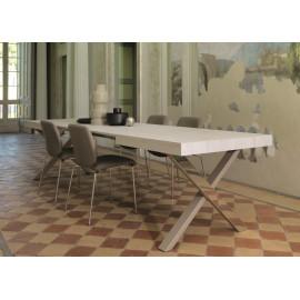 Marche Tavoli Da Cucina.Tavoli Allungabili Moderni E Classici Abitarearreda It