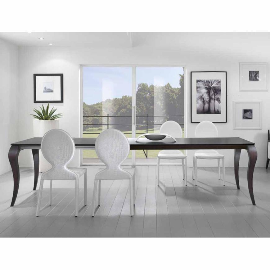 Tavolo rettangolare allungabile in legno Friulsedie Victor ...