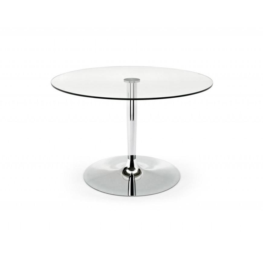 Tavolo rotondo e moderno da soggiorno Connubia Planet