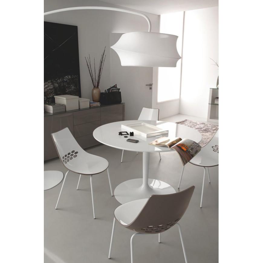 Tavolo rotondo e moderno da soggiorno Connubia Calligaris Planet