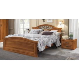 Letti matrimoniali in legno moderno e massello | ABITAREarreda.it