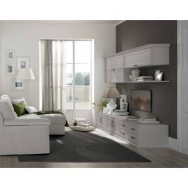 Pareti attrezzate classiche soggiorno | ABITAREarreda.it