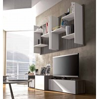 Parete attrezzata design moderno Target Collection S107