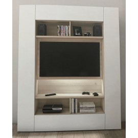 Porta Tv moderno con libreria a terra Target Collection 04