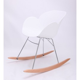 Sedia a dondolo design nordico Ergo Chair