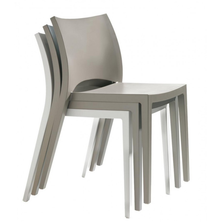 Sedia in polipropilene Bontempi Casa Aqua | ABITAREarreda.it