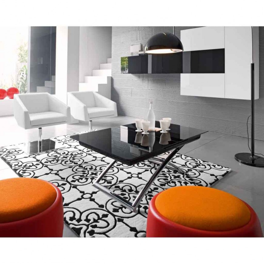 Tavolino apribile moderno Calligaris Magic-J Glass | ABITAREarreda.it