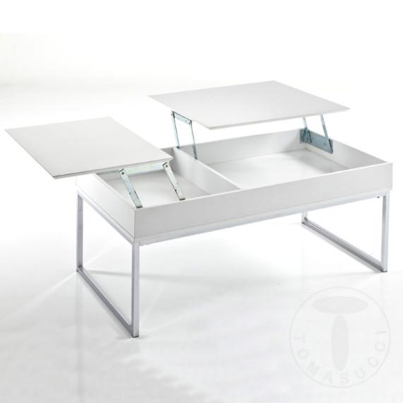 Tavolini Da Salotto Alzabili.Tavolino Da Salotto Con Top Alzabile E Vano Contenitore Celinda