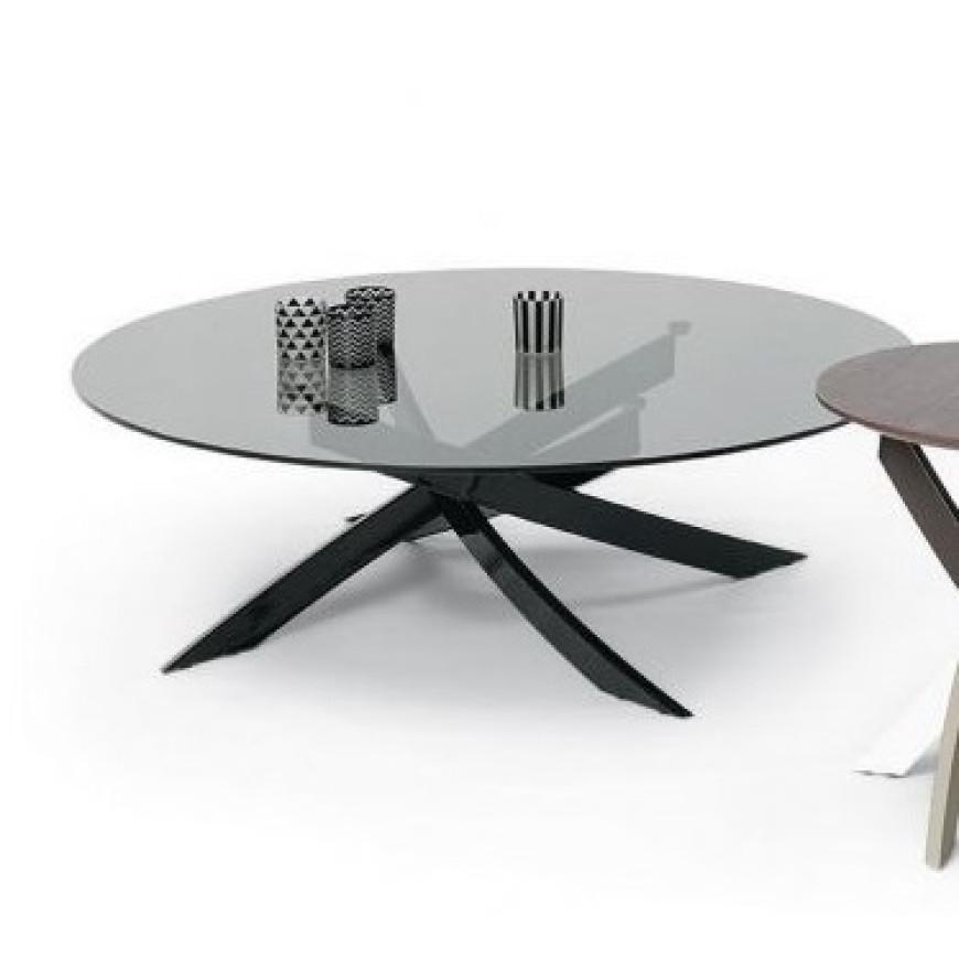 Tavolo Tondo Bontempi.Tavolino Rotondo Gambe Incrociate Bontempi Casa Artistico