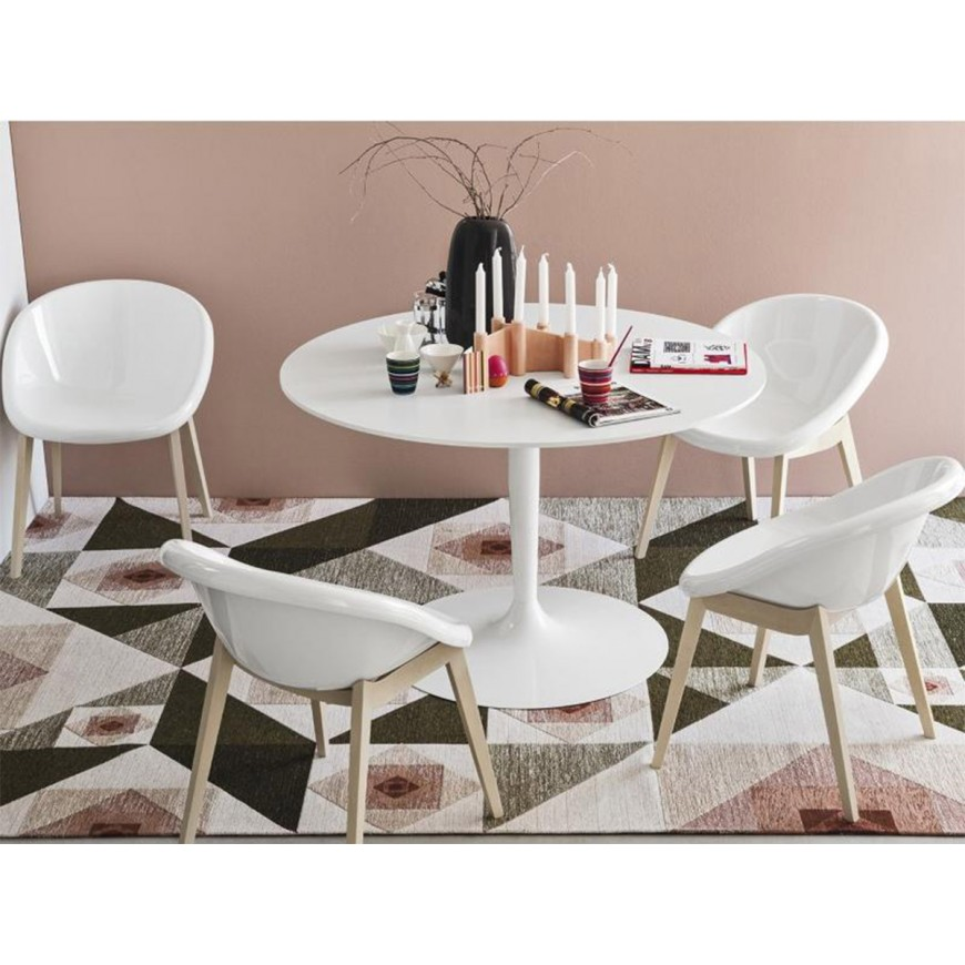 Tavolo tondo allungabile calligaris tavolo tondo allungabile indietro tavolo rotondo - Tavolo eclisse calligaris ...
