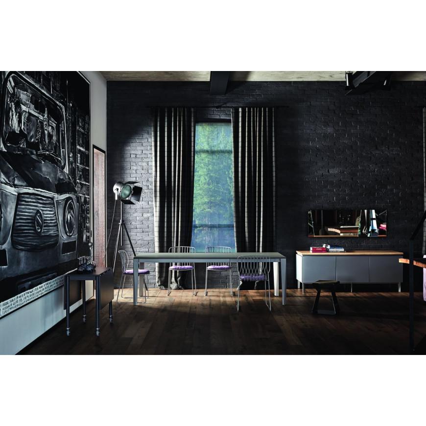Sala Da Pranzo Moderna.Tavolo Sala Da Pranzo Moderna Allungabile Bontempi Casa Chef