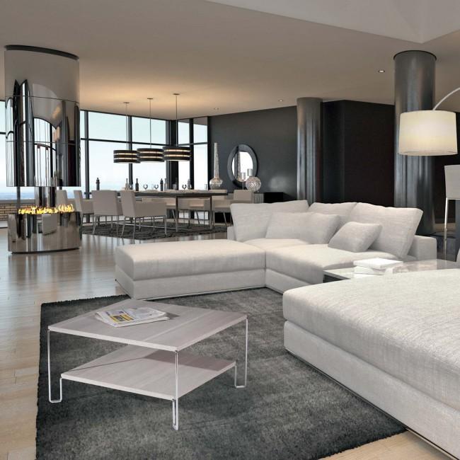 Suggerimenti per arredare il soggiorno - Arredare soggiorno moderno ...